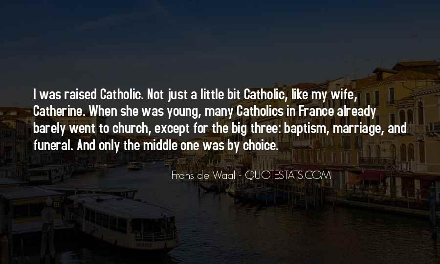 Quotes About Catholic Marriage #530784