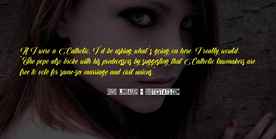Quotes About Catholic Marriage #723789