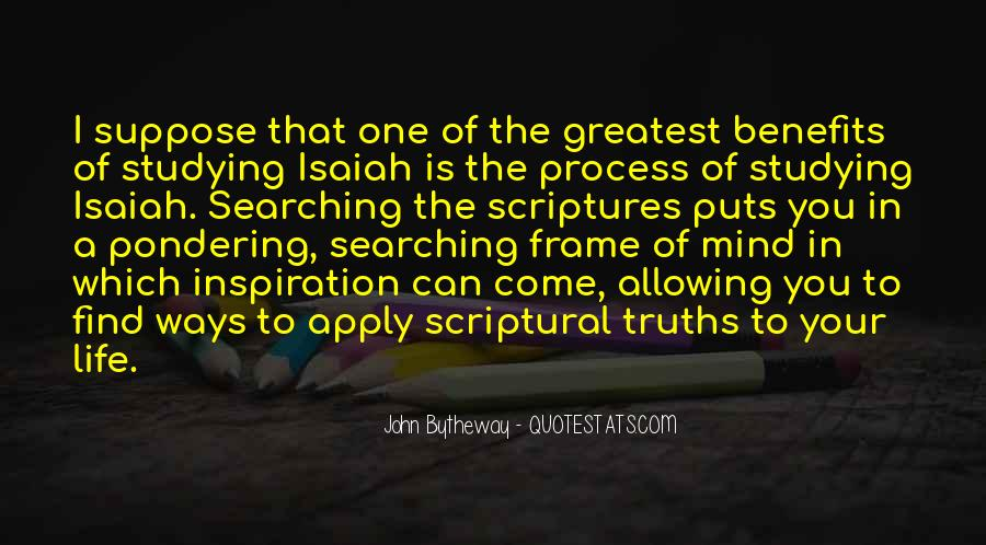 Quotes About Scriptures #11033