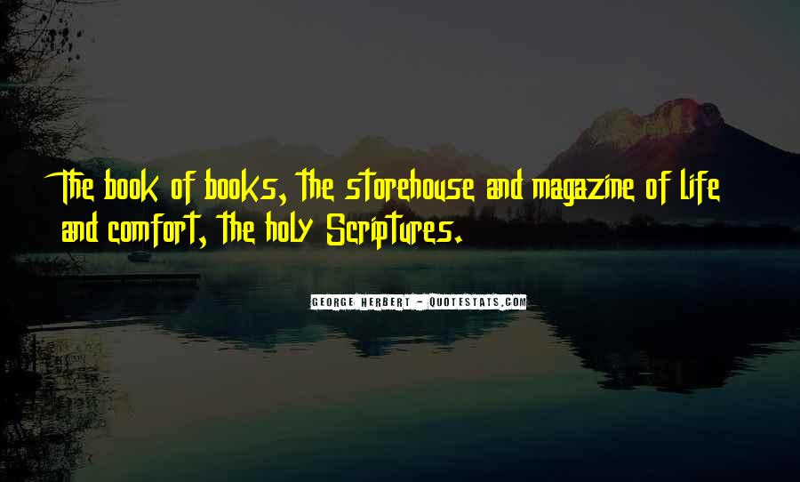 Quotes About Scriptures #125695