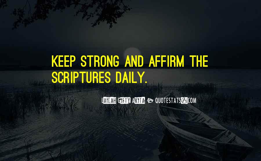 Quotes About Scriptures #134497