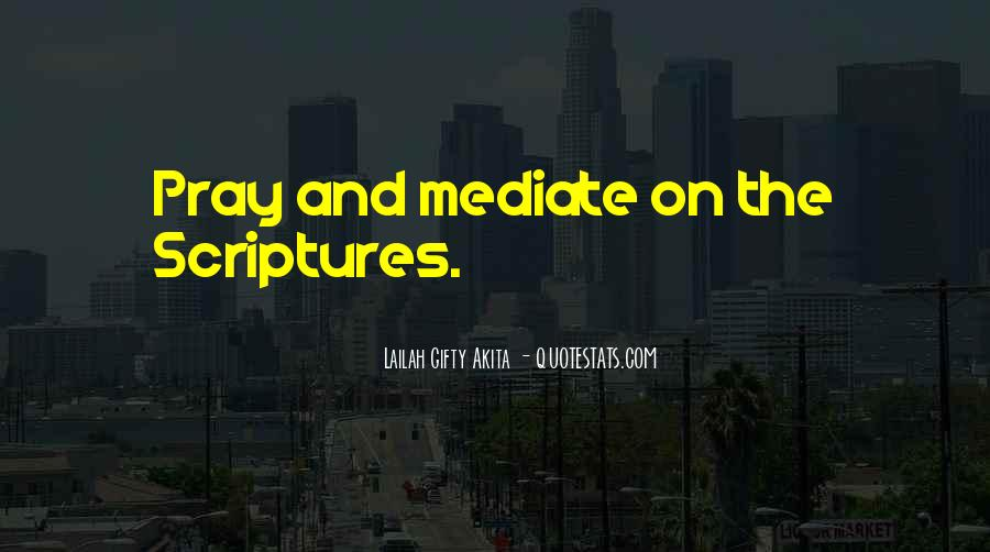 Quotes About Scriptures #140587