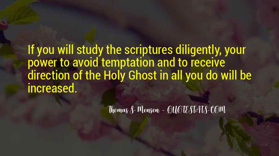 Quotes About Scriptures #167137