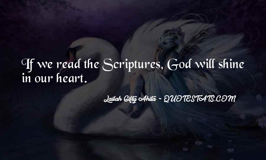 Quotes About Scriptures #167912