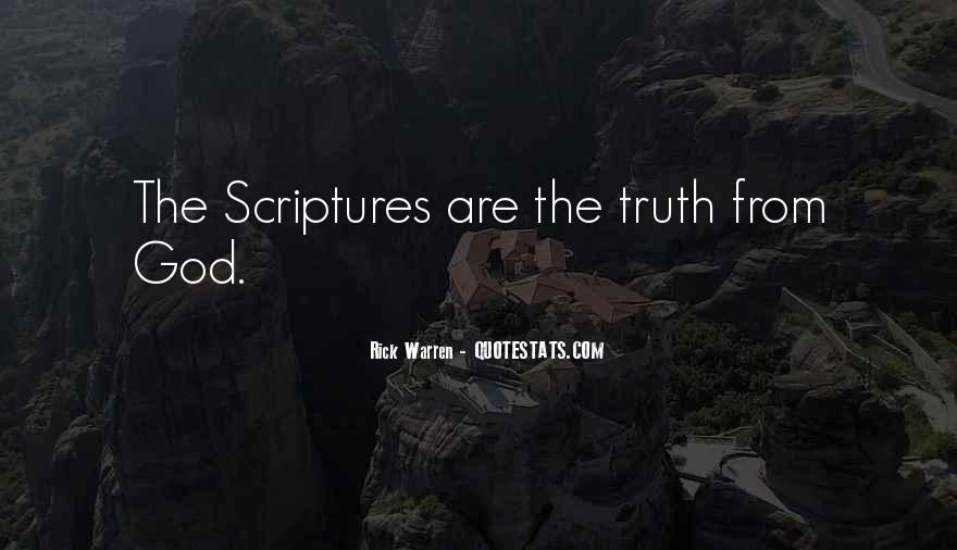 Quotes About Scriptures #218294