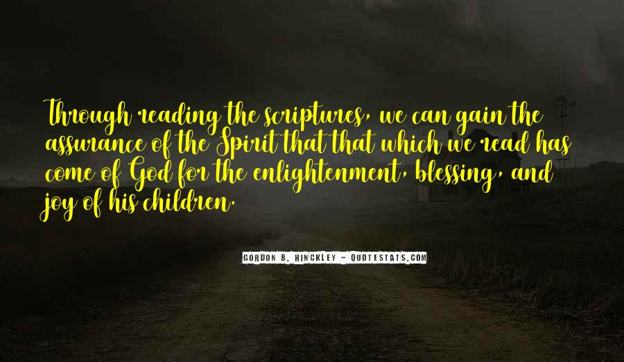 Quotes About Scriptures #64441