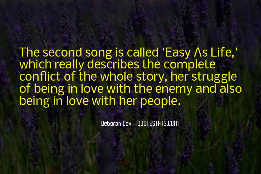 Quotes About Being Second To Someone #121152