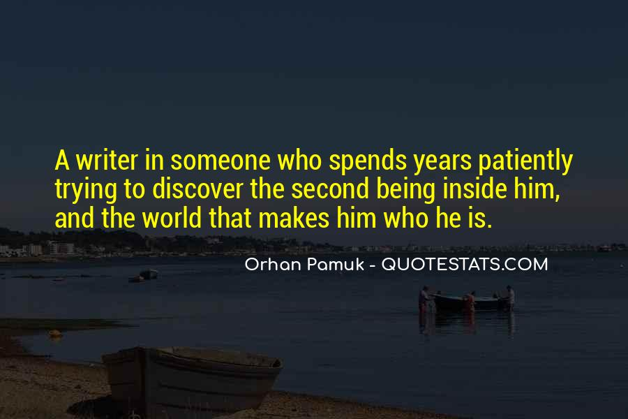Quotes About Being Second To Someone #1285656