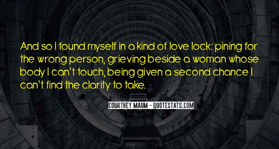 Quotes About Being Second To Someone #13376