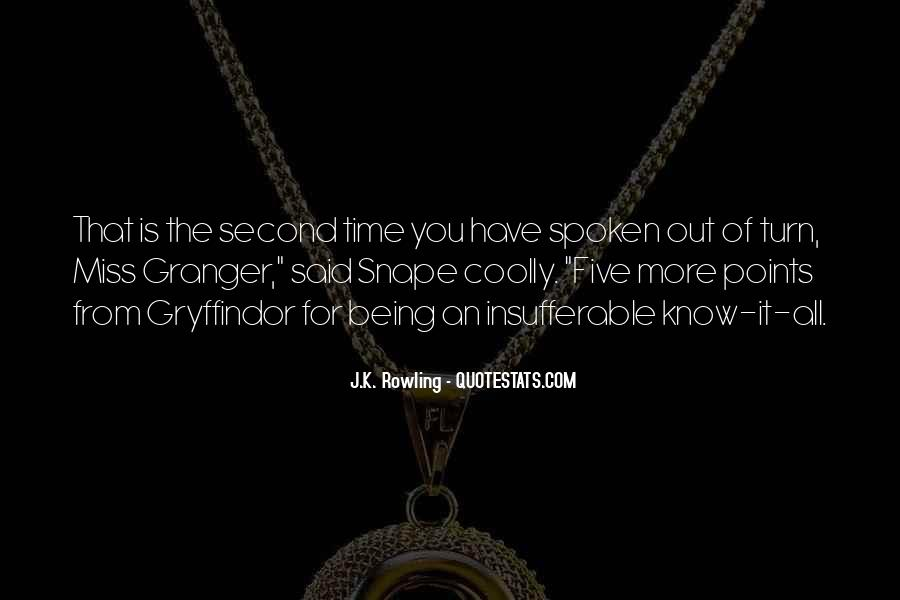 Quotes About Being Second To Someone #220377