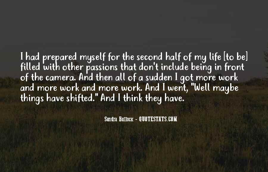 Quotes About Being Second To Someone #35501