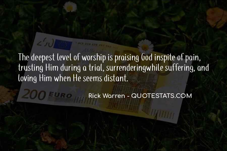 Quotes About Surrendering To God #1129488