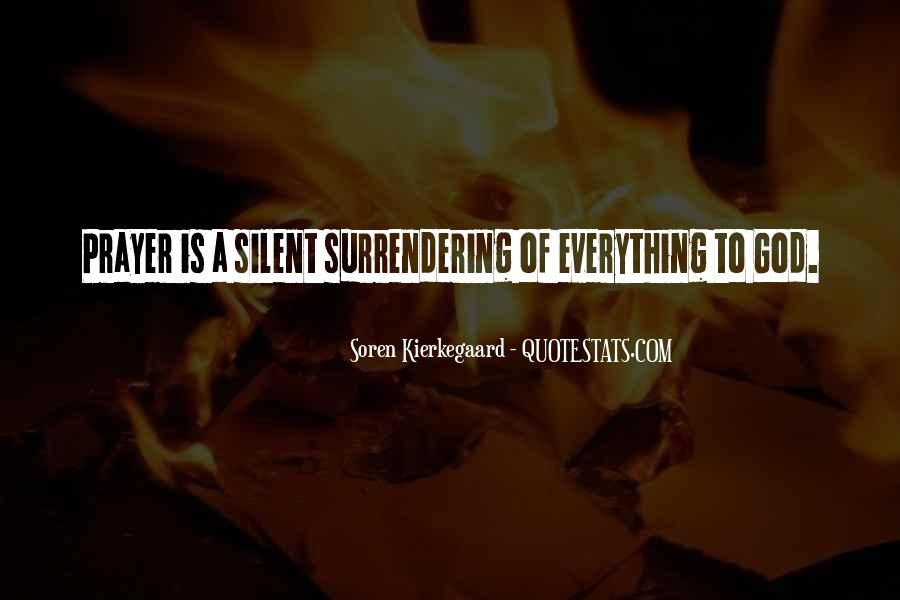 Quotes About Surrendering To God #1153396
