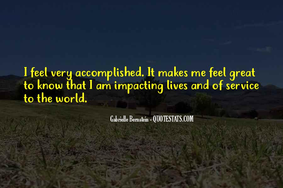 Quotes About Impacting The World #1317261