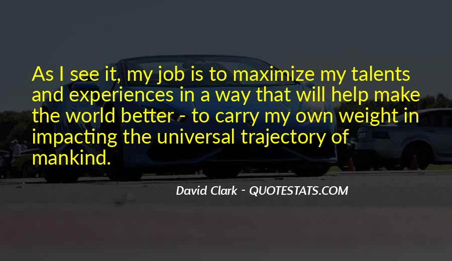 Quotes About Impacting The World #1436141