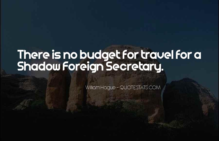 Quotes About Budget Travel #600587