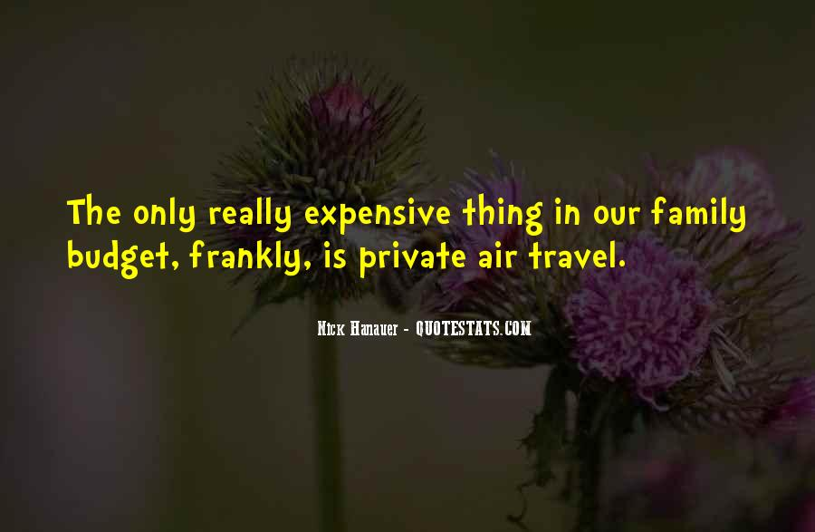 Quotes About Budget Travel #616542