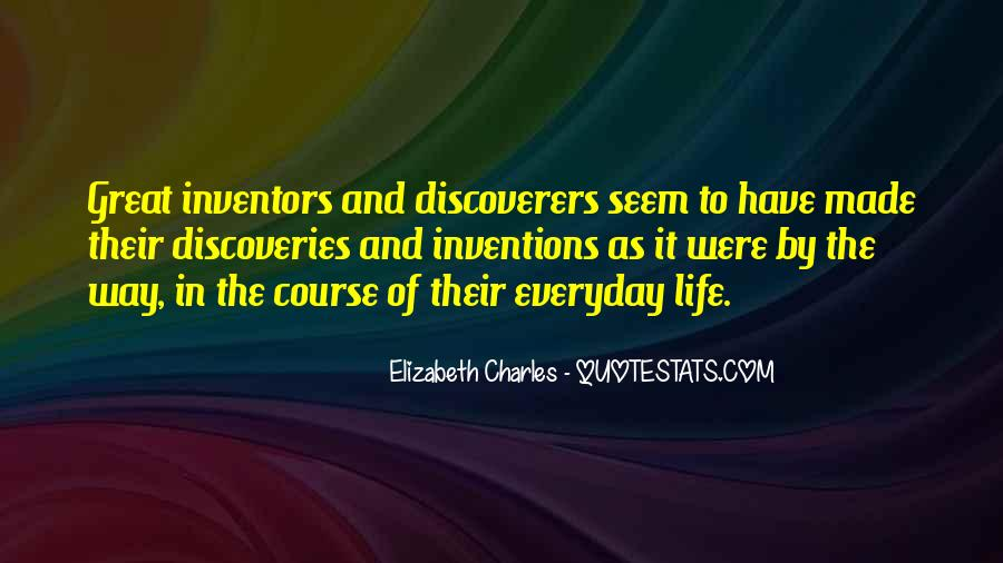 Quotes About Inventions And Inventors #59607