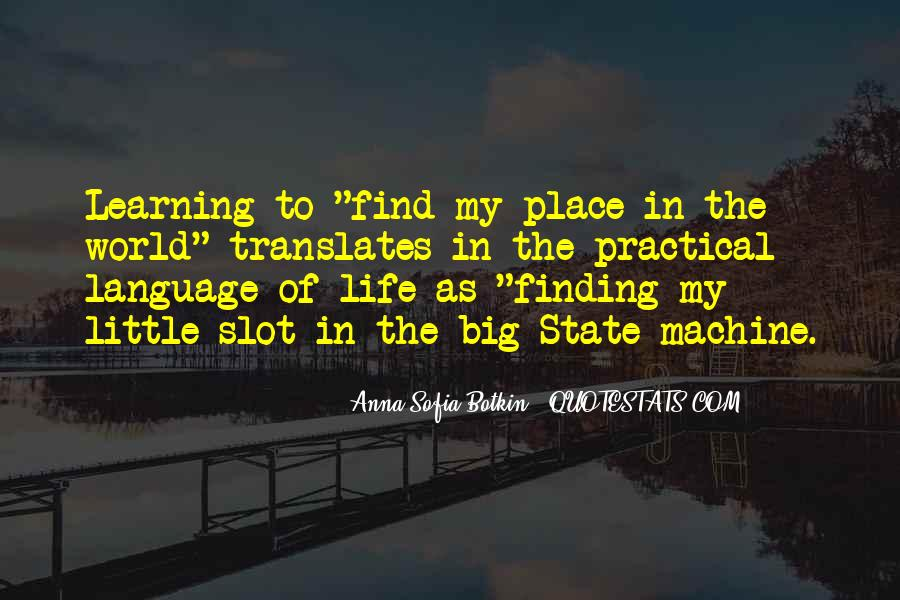 Quotes About Learning A Language #136432
