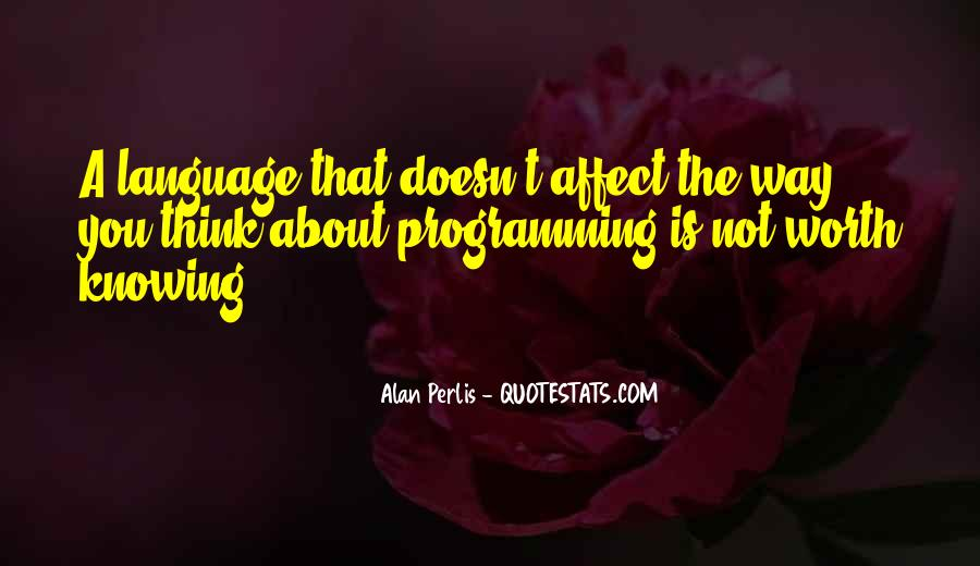 Quotes About Learning A Language #169476
