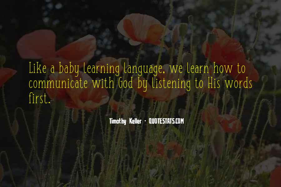 Quotes About Learning A Language #214774