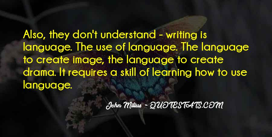 Quotes About Learning A Language #313948