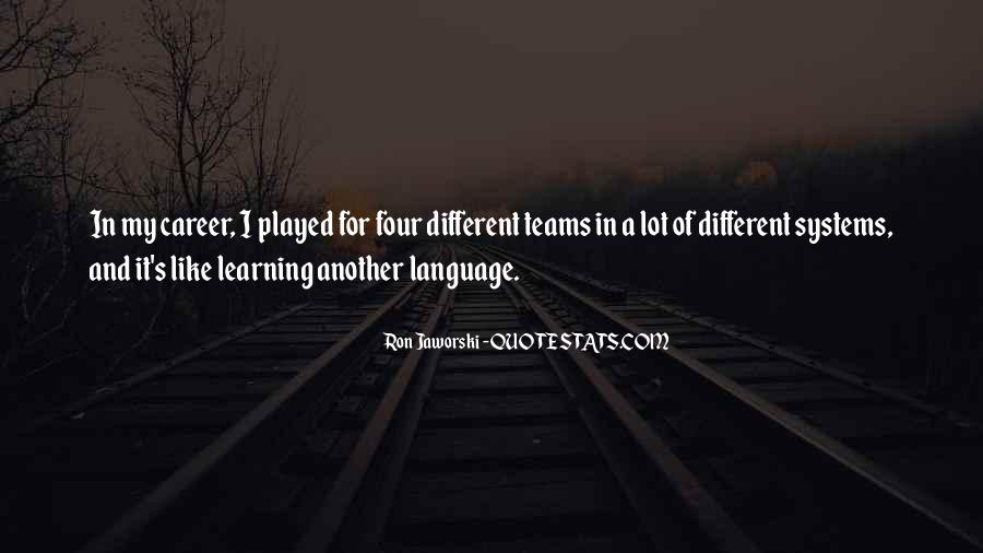 Quotes About Learning A Language #54809