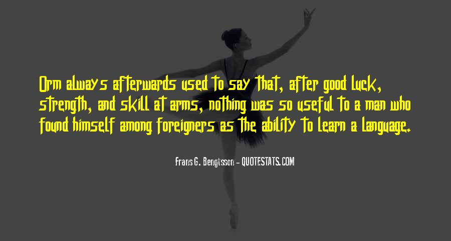 Quotes About Learning A Language #558882