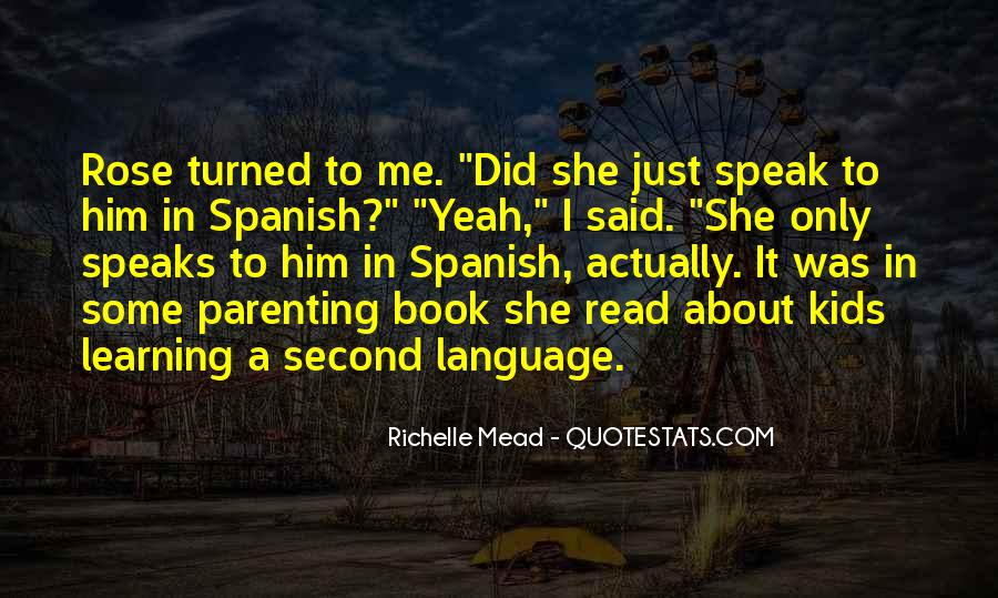 Quotes About Learning A Language #568402