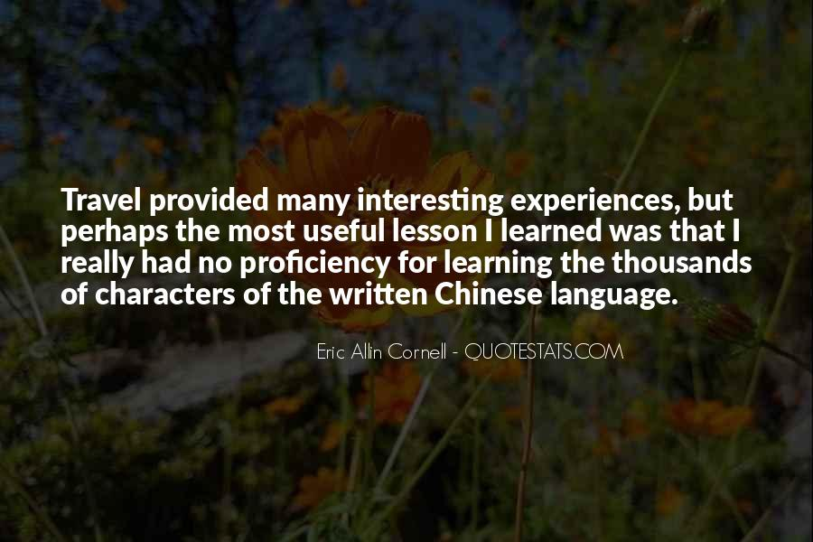 Quotes About Learning A Language #645869