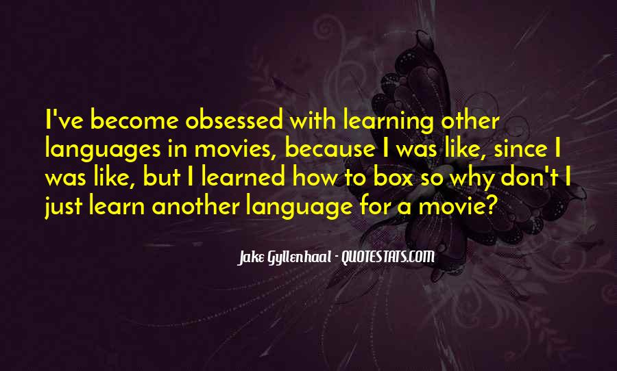 Quotes About Learning A Language #689420