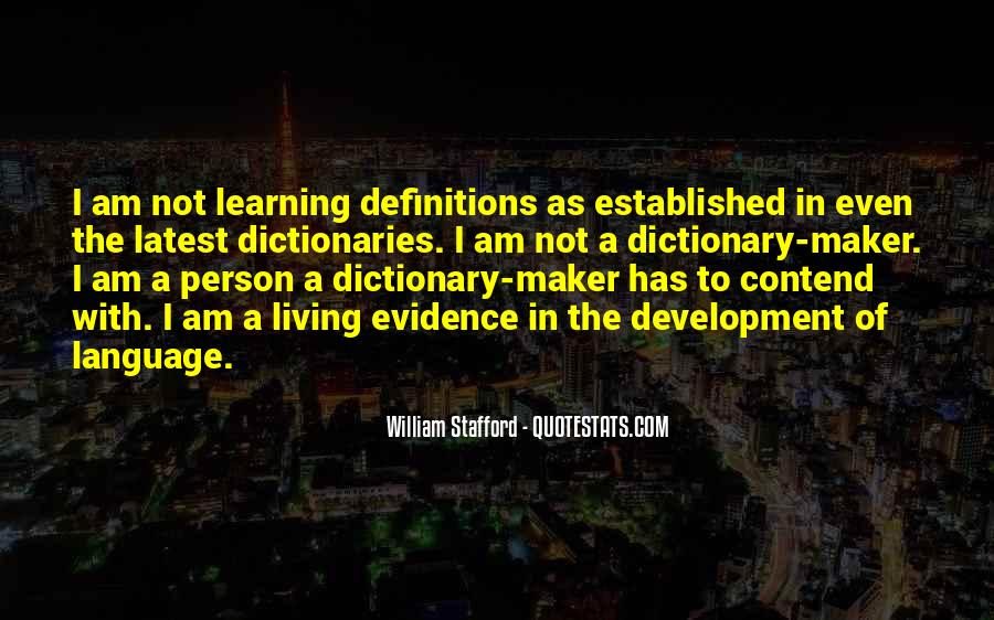 Quotes About Learning A Language #779236