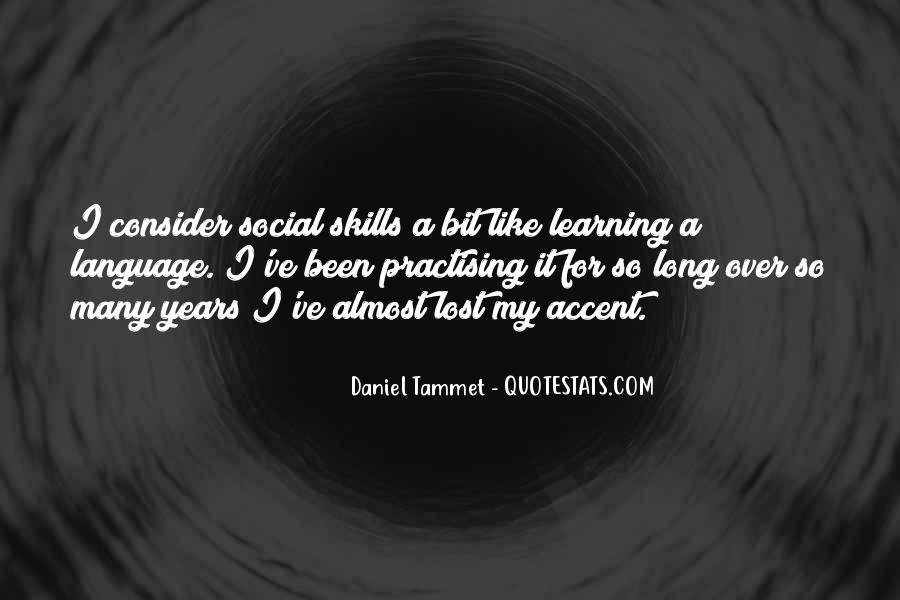 Quotes About Learning A Language #823789