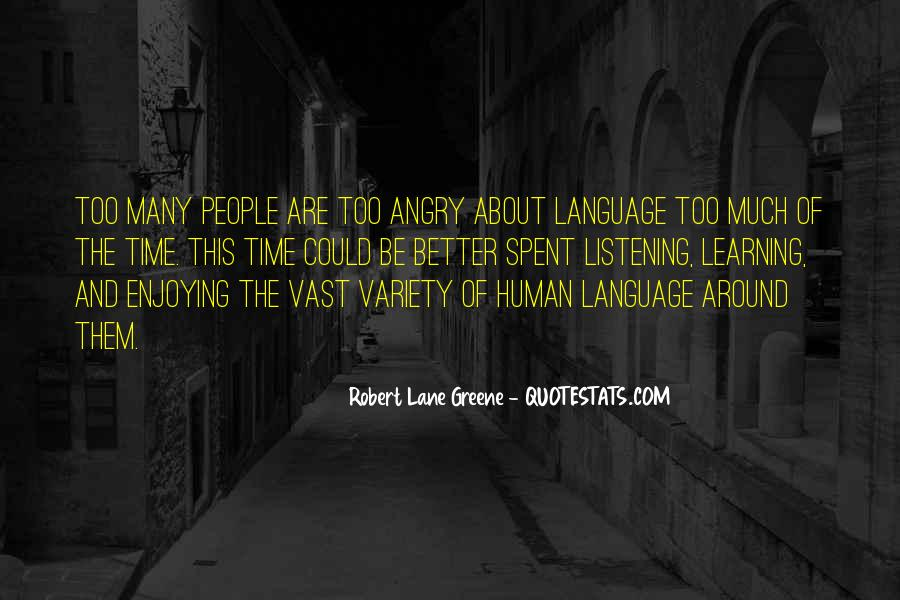 Quotes About Learning A Language #965360