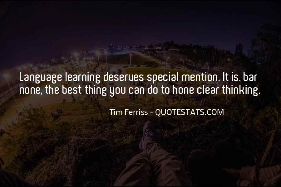 Quotes About Learning A Language #994751