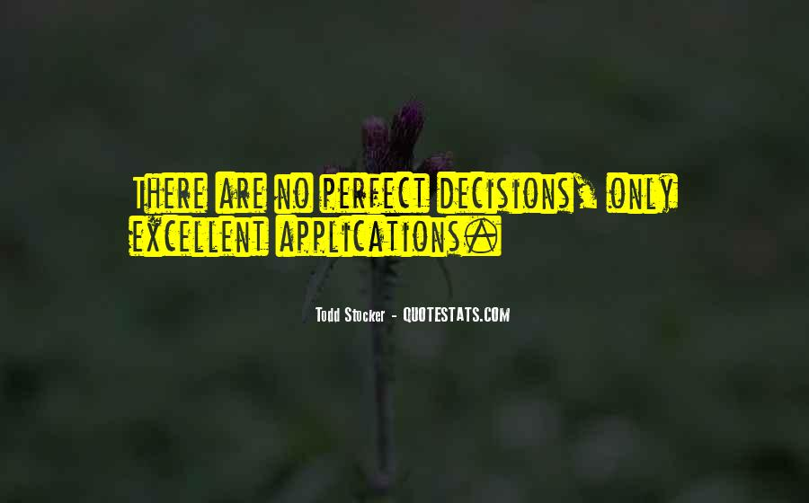 Quotes About Making Decisions #128199