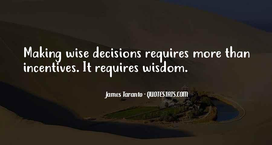 Quotes About Making Decisions #138360