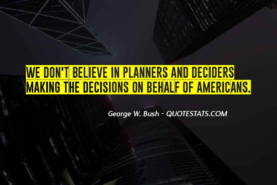 Quotes About Making Decisions #161115