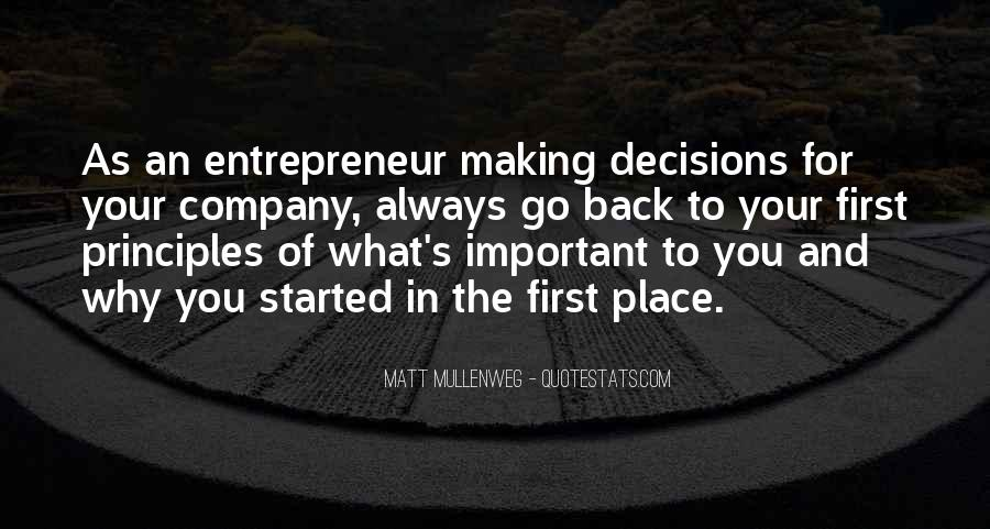 Quotes About Making Decisions #164322
