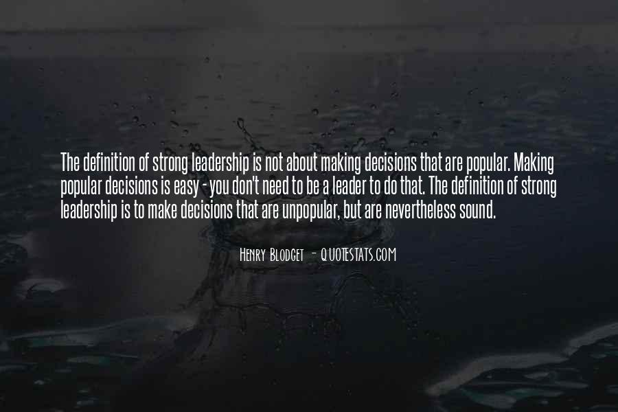Quotes About Making Decisions #168090