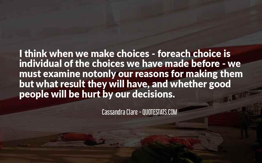Quotes About Making Decisions #211320