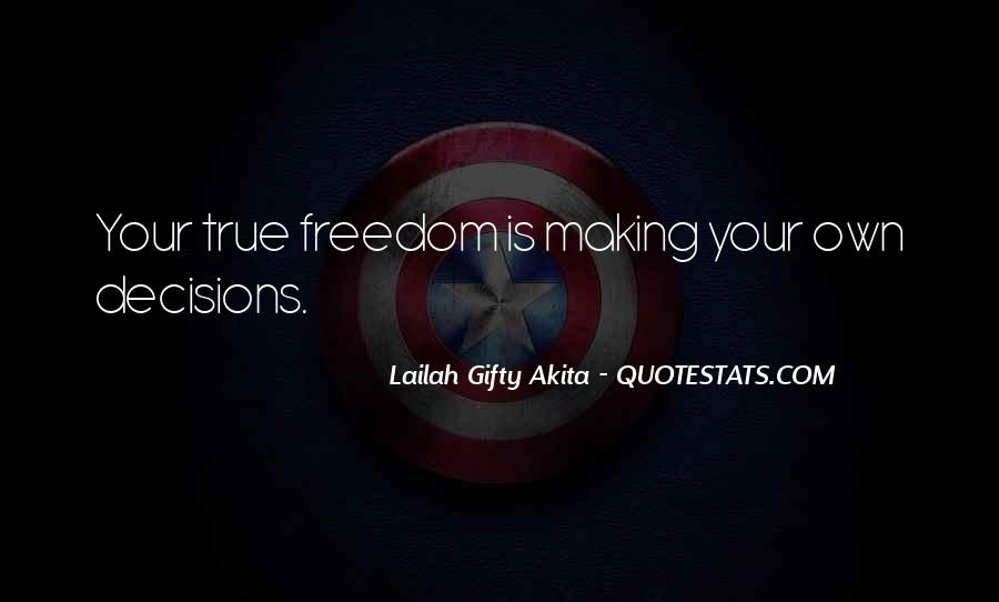 Quotes About Making Decisions #31878