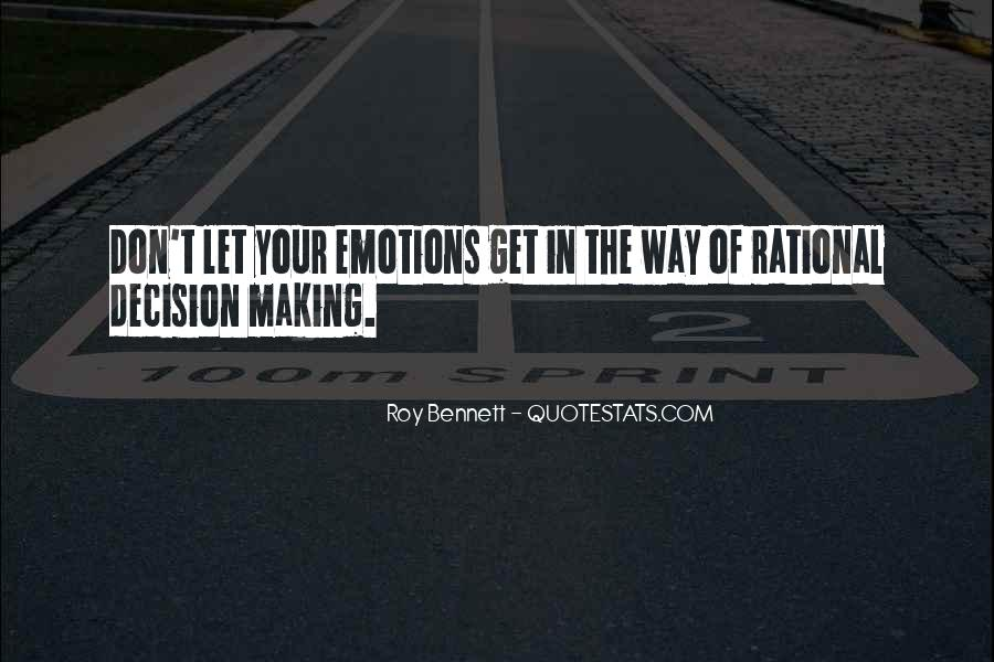 Quotes About Making Decisions #77850