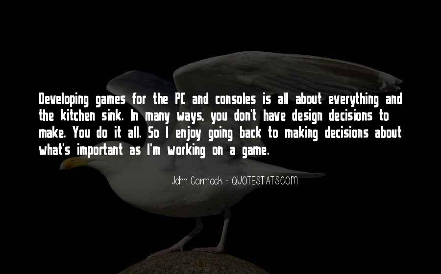 Quotes About Making Decisions #78872