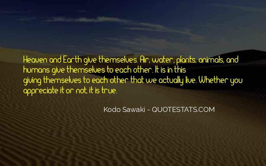 Quotes About Plants And Humans #1293289