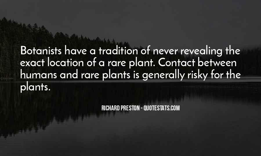 Quotes About Plants And Humans #304878