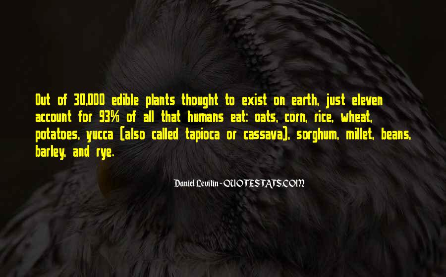 Quotes About Plants And Humans #56489