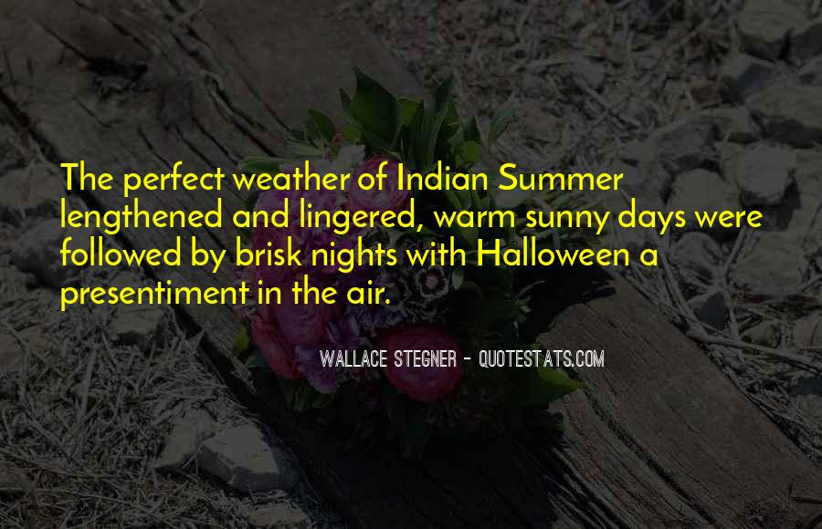 Quotes About Perfect Nights #245821