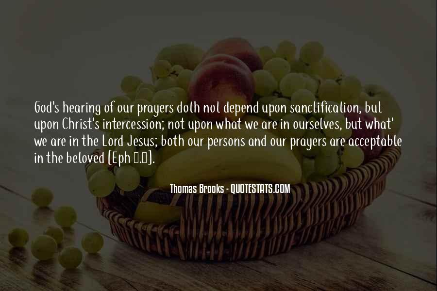 Quotes About God Hearing Our Prayers #1241367