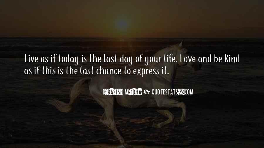 Quotes About Express Your Love #1438561
